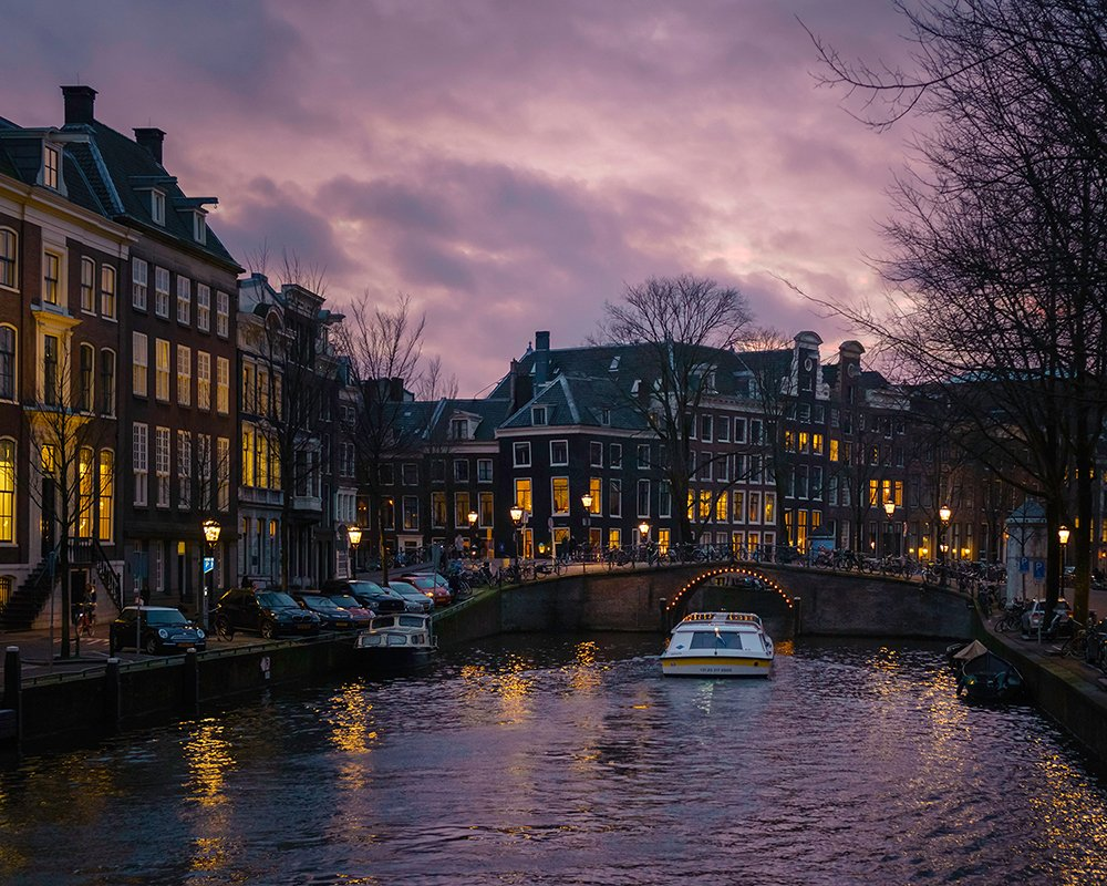 How to spend 3 days in Amsterdam itinerary: take a canal cruise