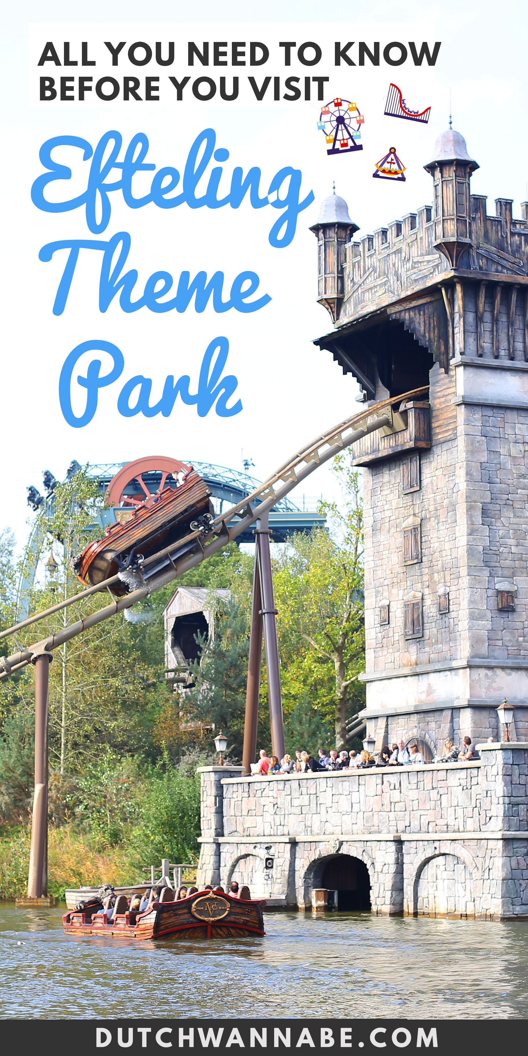 All you need to know about Efteling Theme Park: how to get to Holland's biggest amusement park, discounted Efteling tickets, must visit attractions Efteling prices, hotel options & more!