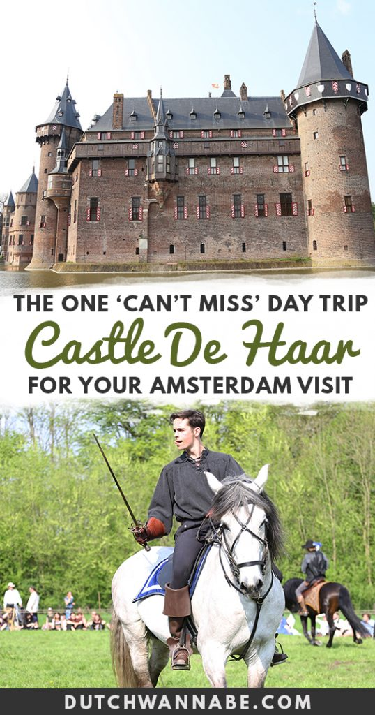 The ultimate guide to Elfia at Kasteel de Haar, Europe's biggest fantasy fair and costumed festival! How to get to Castle de Haar, Netherlands getaways, day trips from Amsterdam, what to see in Netherlands, what to do in Utrecht, top Netherlands castles, must see Dutch castle, must do bucket list item, Dutch bucket list, Netherlands travel, explore the Netherlands #netherlands #europetravel