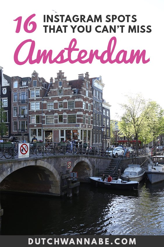 The ultimate photo location guide to Amsterdam! Find out the most Instagrammable Amsterdam photo spots that you must visit during your Amsterdam city break! From the gingerbread houses on the Dam to the obscure gardens - this guide places every photogenic spot on the map...