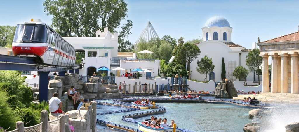 Europa Park amusement park in Europe Germany