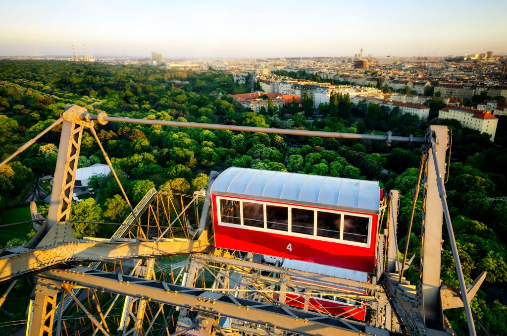 Amusement parks in Europe: Vienna Prater