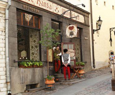 Where to eat in Tallinn Old Town: Olde Hansa medieval restaurant