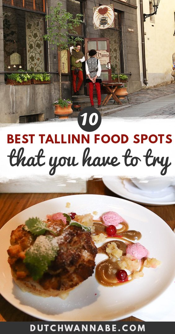 Where to Eat in Tallinn Old Town: 10 Amazing Places You\'ll Love