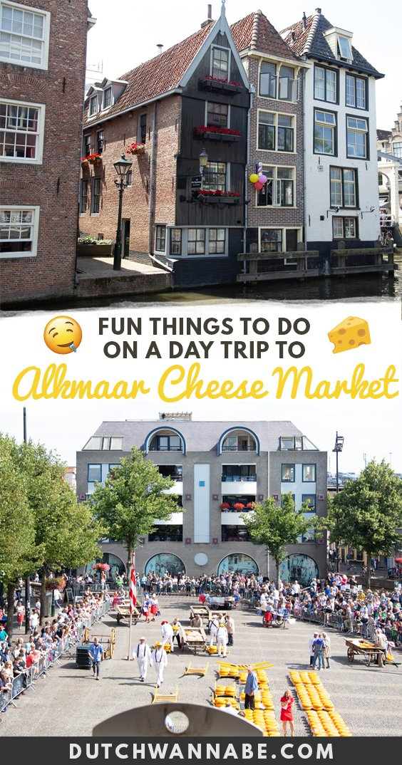 Best things to do in Alkmaar Netherlands including the famous cheese market, boat rides and more on Dutch Wannabe