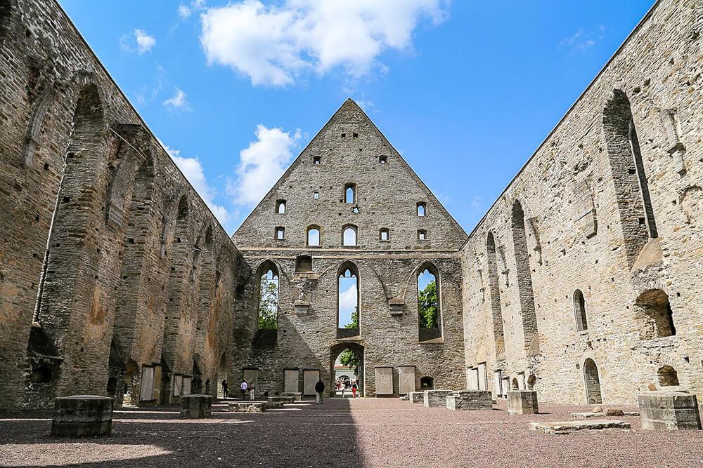 15th Century Pirita Convent Ruins in Tallinn