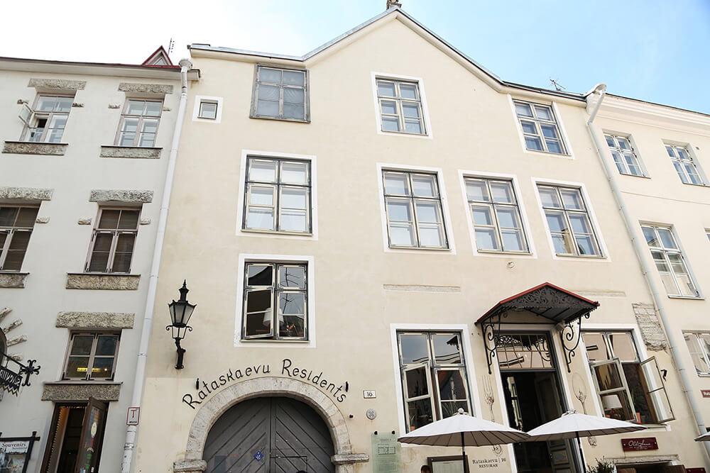 Rataskaevu 16 entrance Tallinn Restaurant