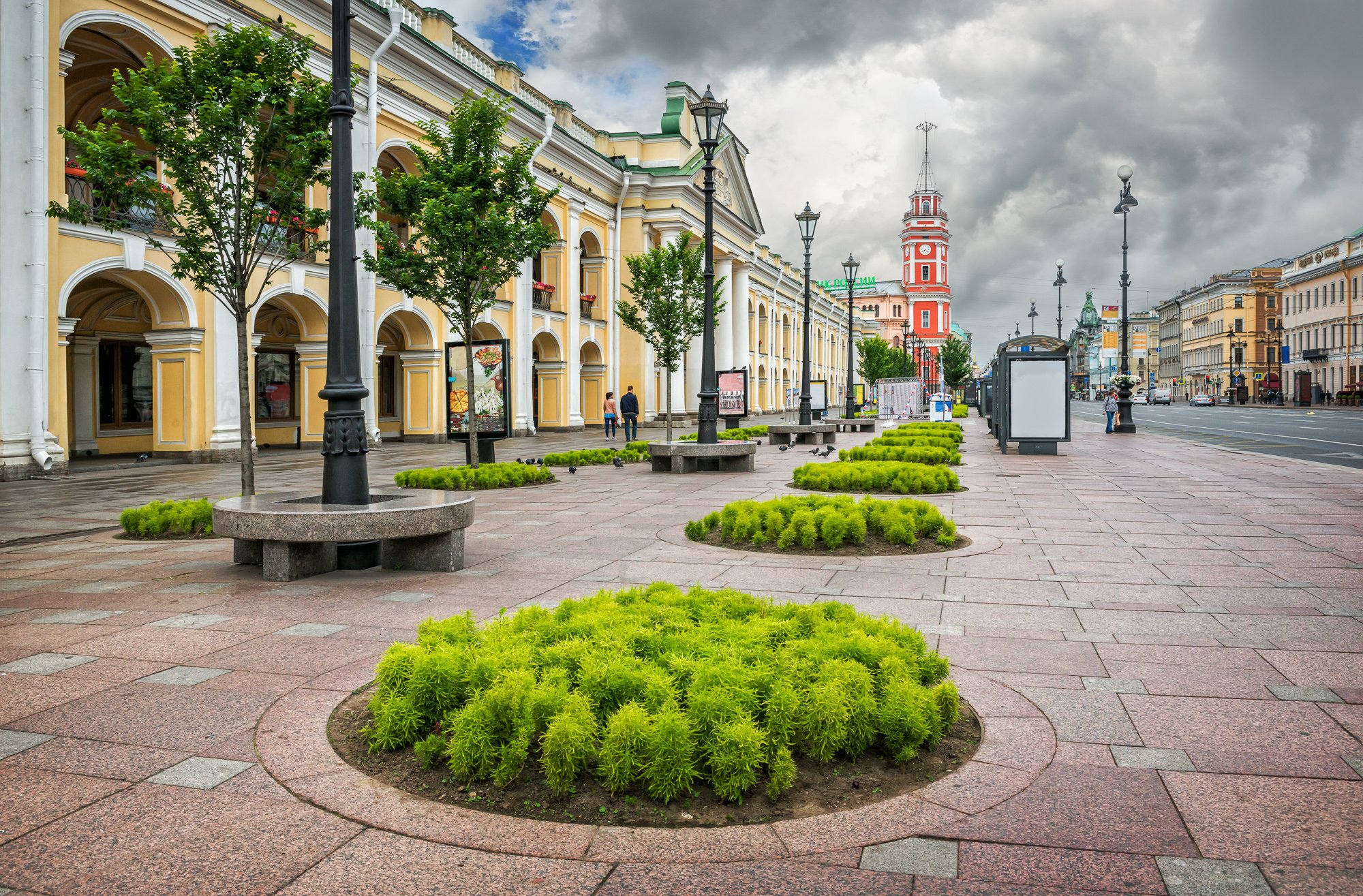 What to do in St Petersburg: shop in Gostiny Dvor