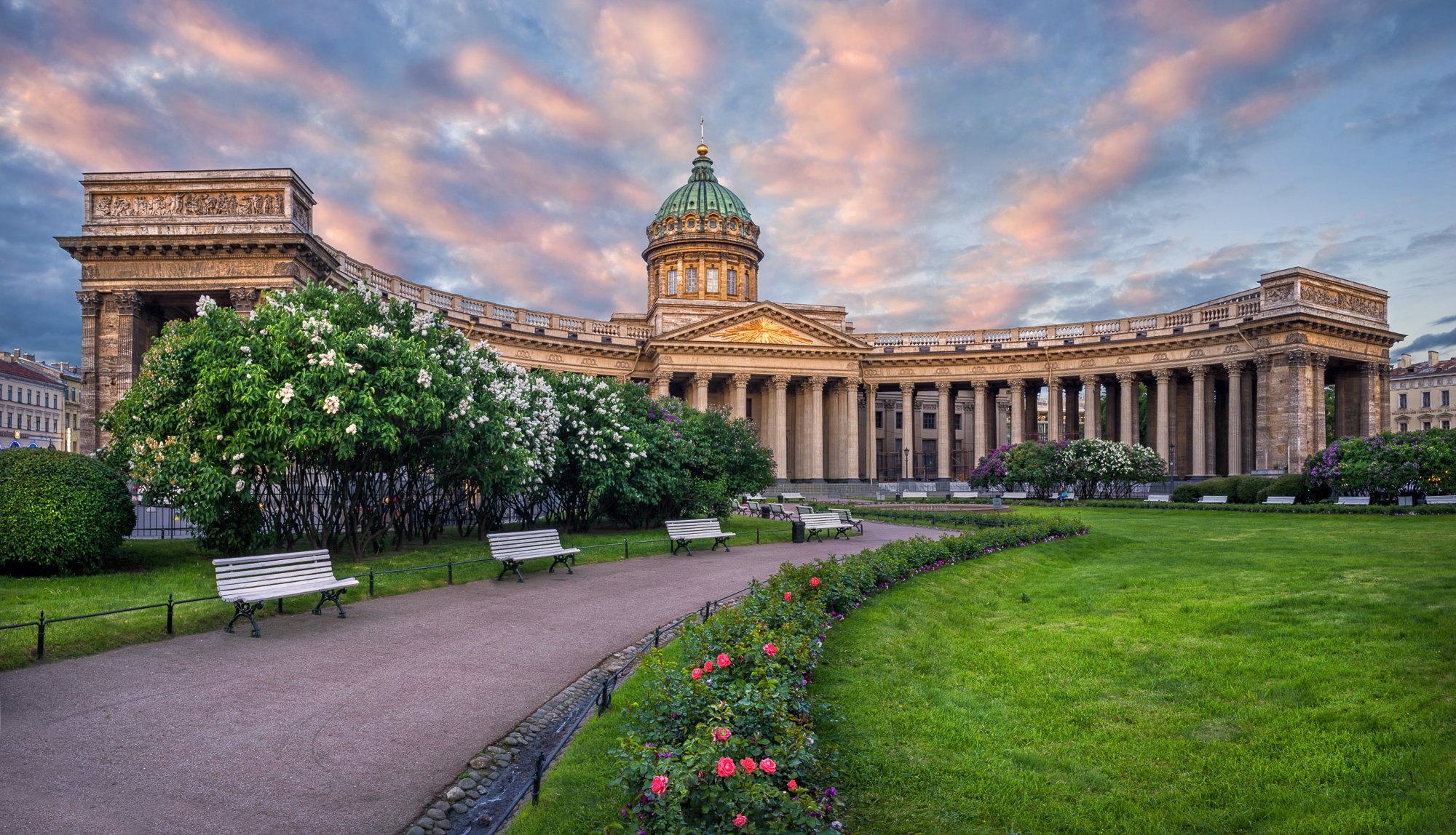 Kazan Cathedral in St Petersburg