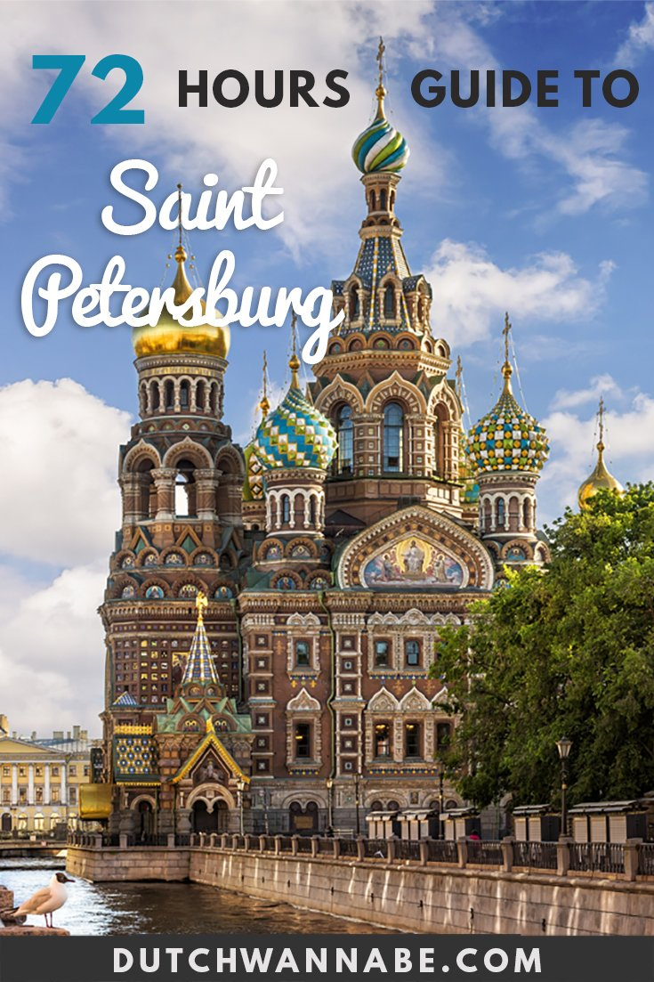 3 Days in St Petersburg and how to spend them: your ultimate guide to Saint Petersburg Russia's main landmarks, churches, museums and more.