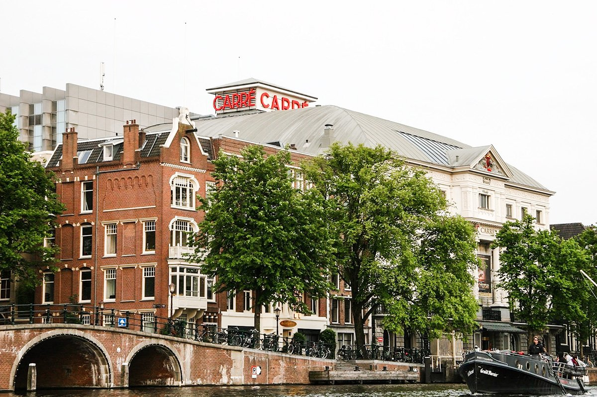 Visit the Carre Theatre Amsterdam