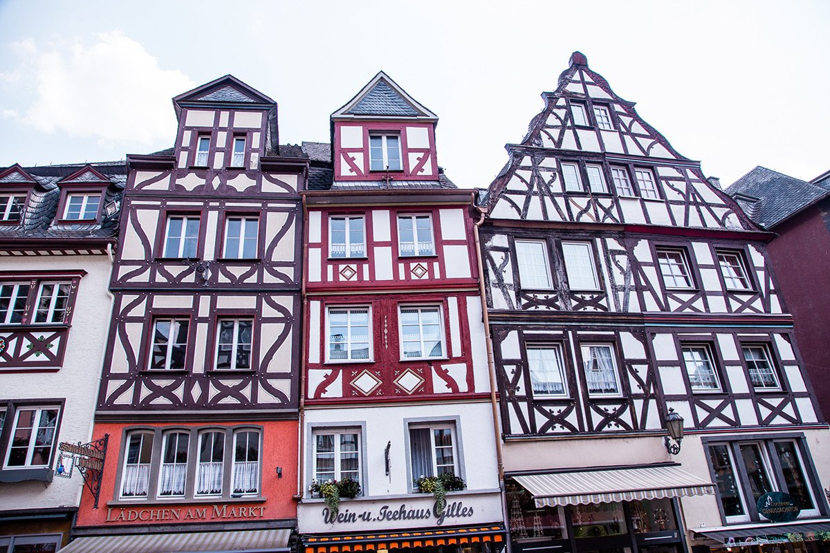 Cochem timber framed houses