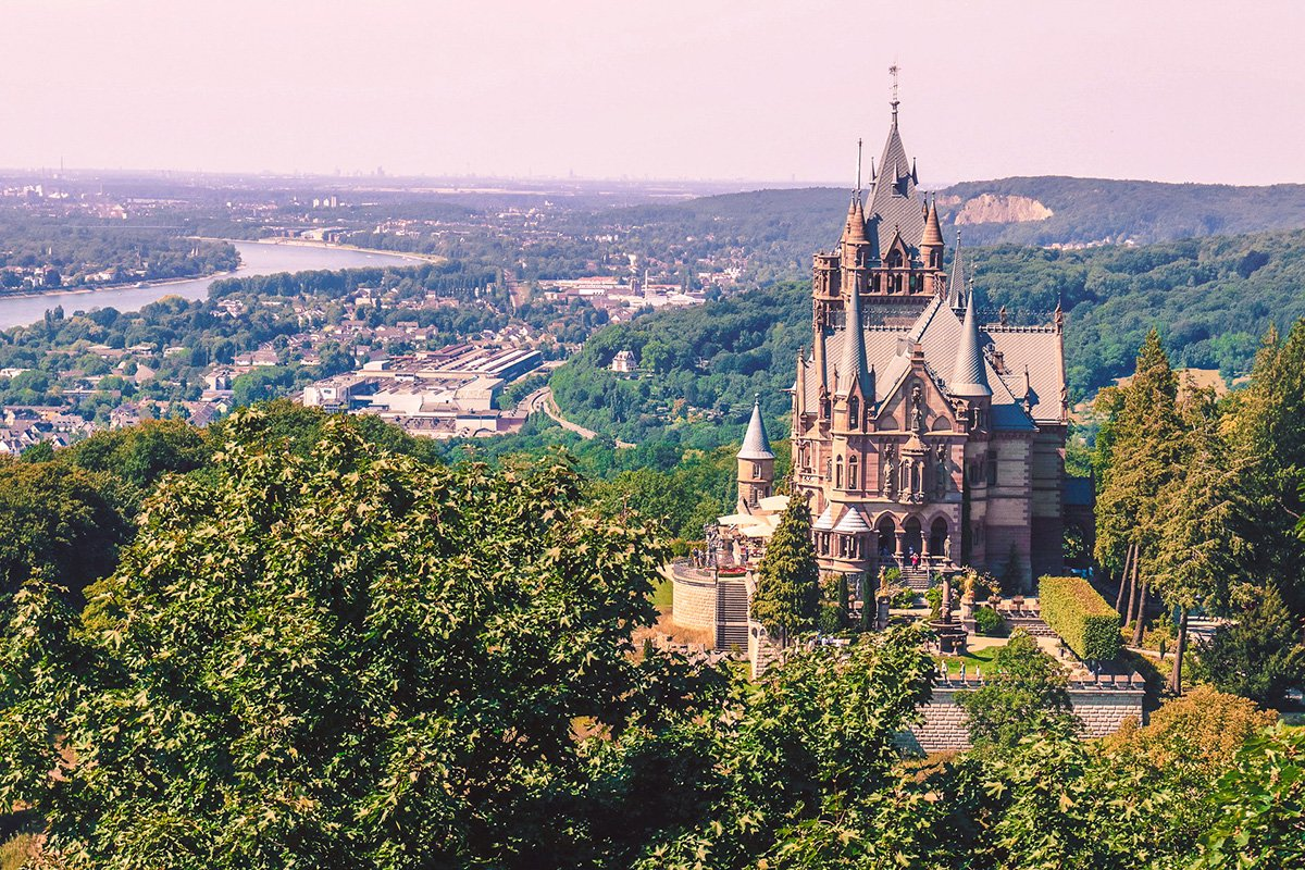 Drachenburg castle in Bonn