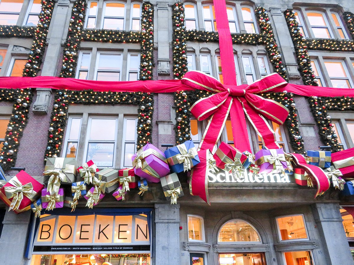 Christmas shopping in Schelterma and other Amsterdam stores