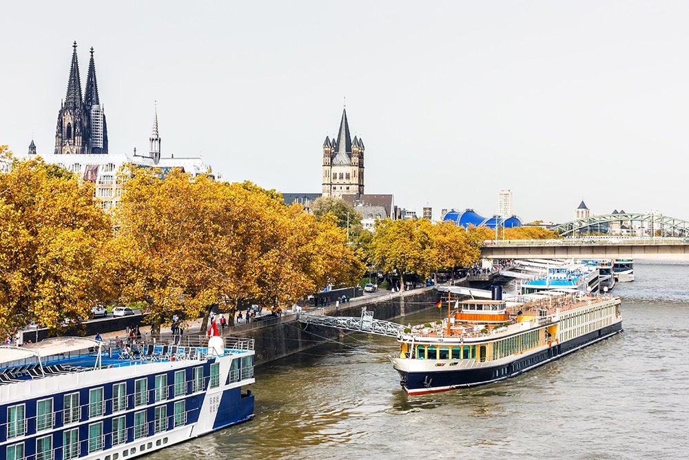 Things to do in Cologne in one day: walk the promenade