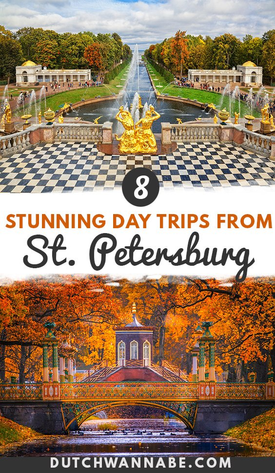 Going to St. Petersburg? These day trips from St Petersburg are going to stun you. Visit the main summer residences built during Imperial Russia: discover the Peterhof fountains, Pushkin, Pavlovsk, Strelna, and many others... #russia #travel #europetravel