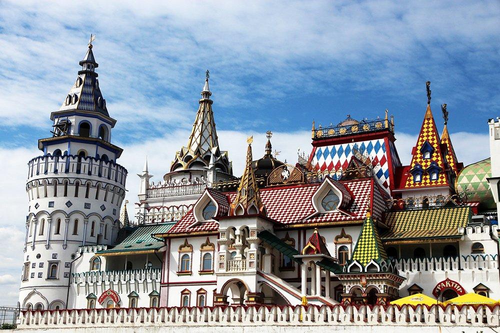 Izmailovo Kremlin in Moscow
