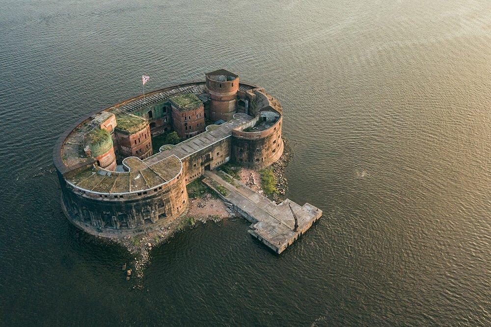 """Fort """"Emperor Alexander I"""" in Kronstadt"""