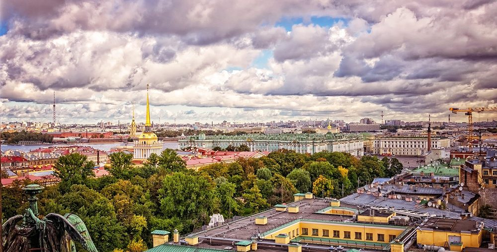 St Petersburg Russia city view