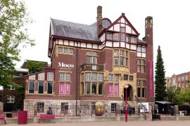 Moco Museum building in Amsterdam The Netherlands