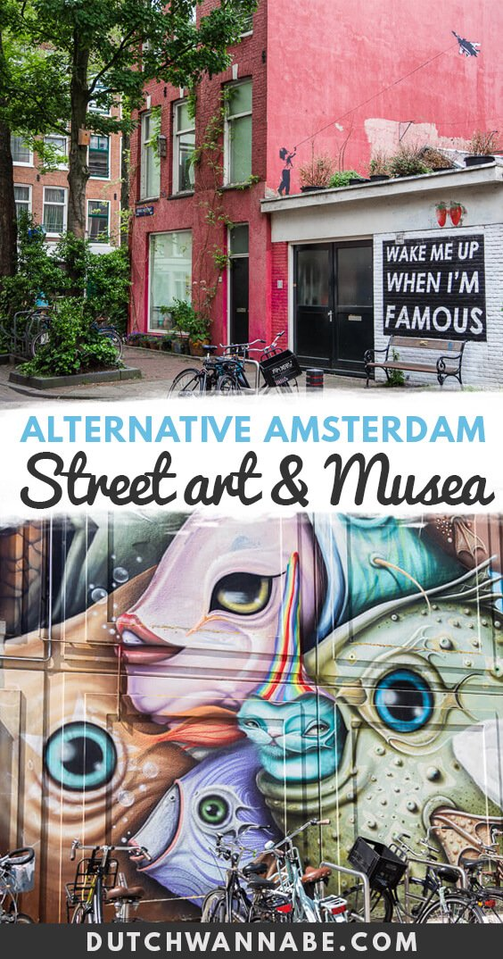 This Alternative Amsterdam guide will show you around the overlooked neighborhoods such as Noord, Nieuw West, show you where to find the best street art tours and which underrated things to do and fun museums are worth your time. #amsterdam #europetravel