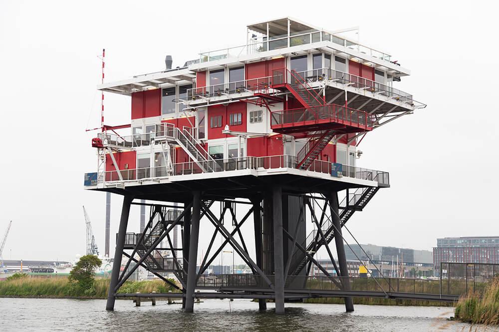 Rem Eiland restaurant Amsterdam