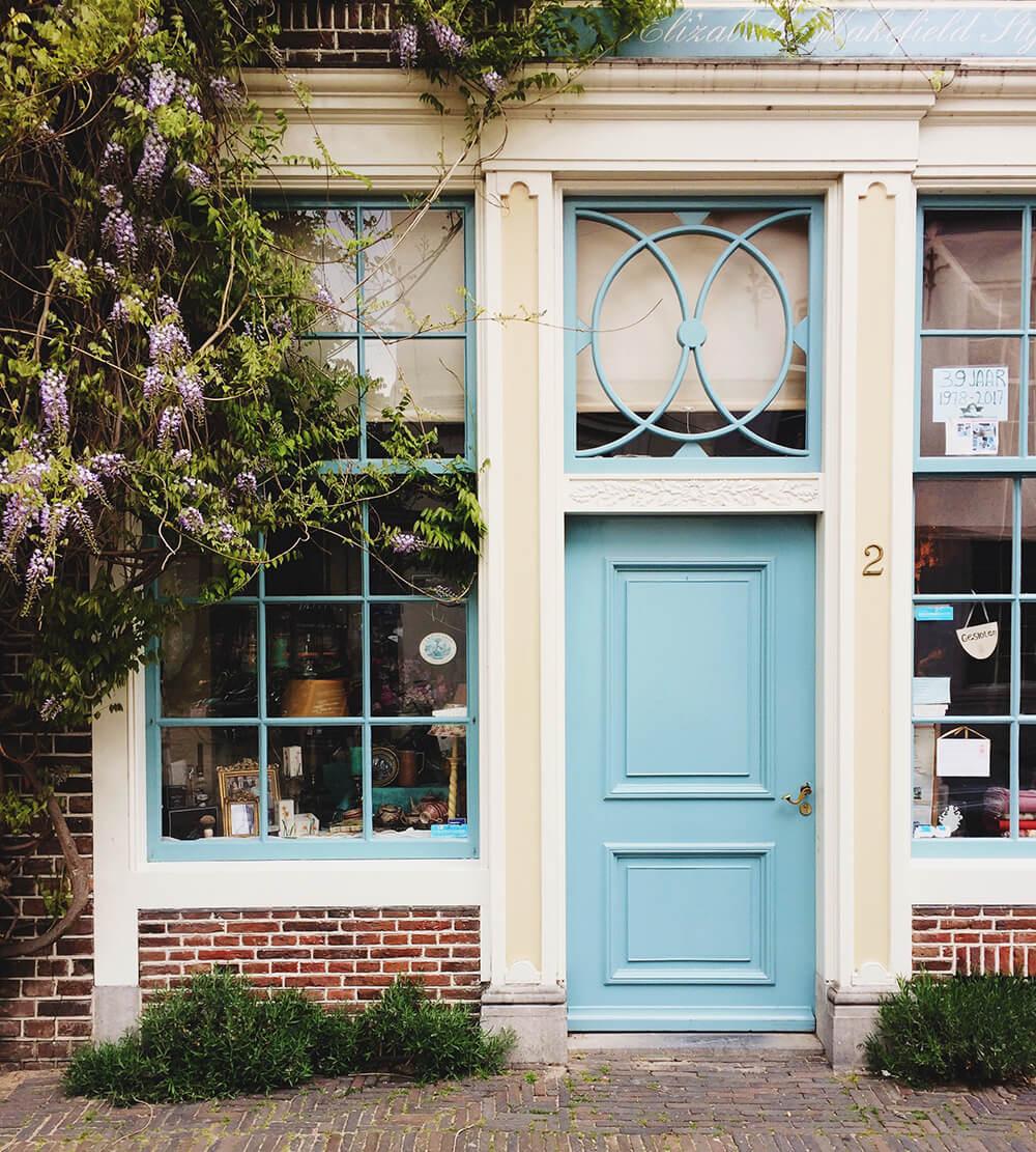 Explore Utrecht's cozy little shops with cute fronts