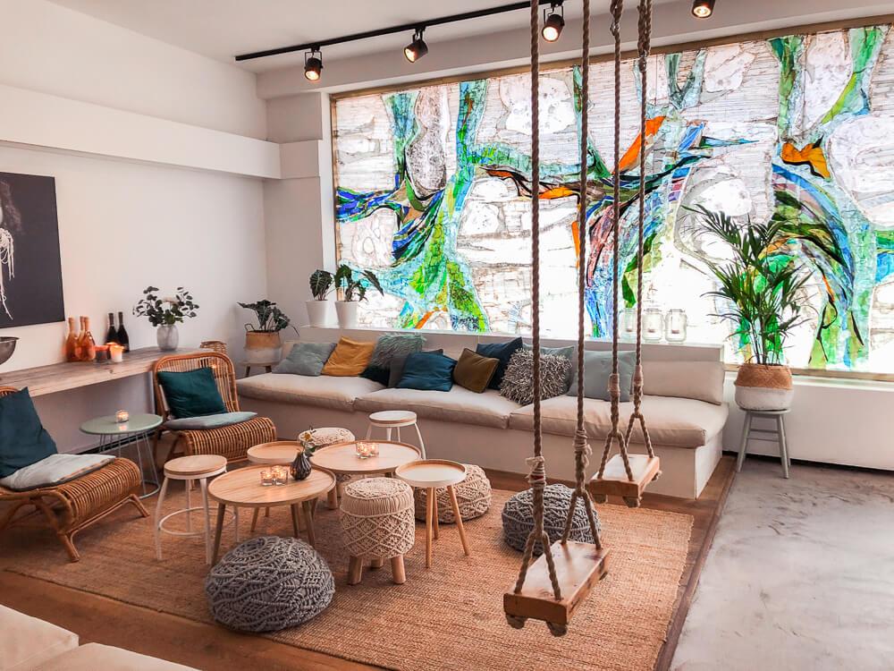 Piatto restaurant in Utrecht interior design