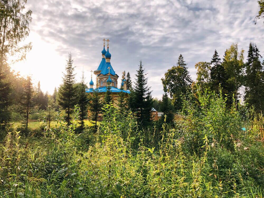 Valaam monastery in Karelia