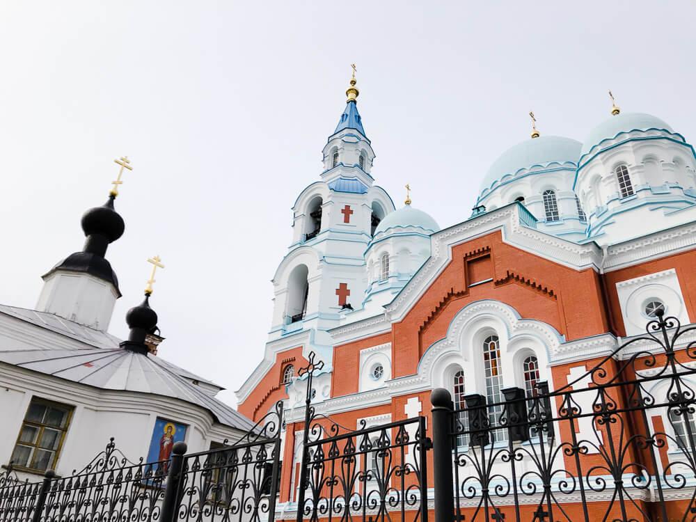 Karelia Valaam Monastery main building