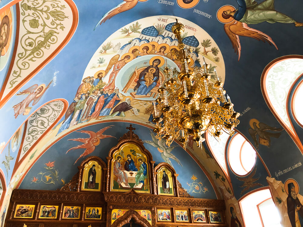 Interiors of the Valaam monastery