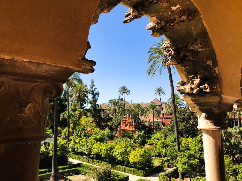 Real Alcazar Seville Gardens