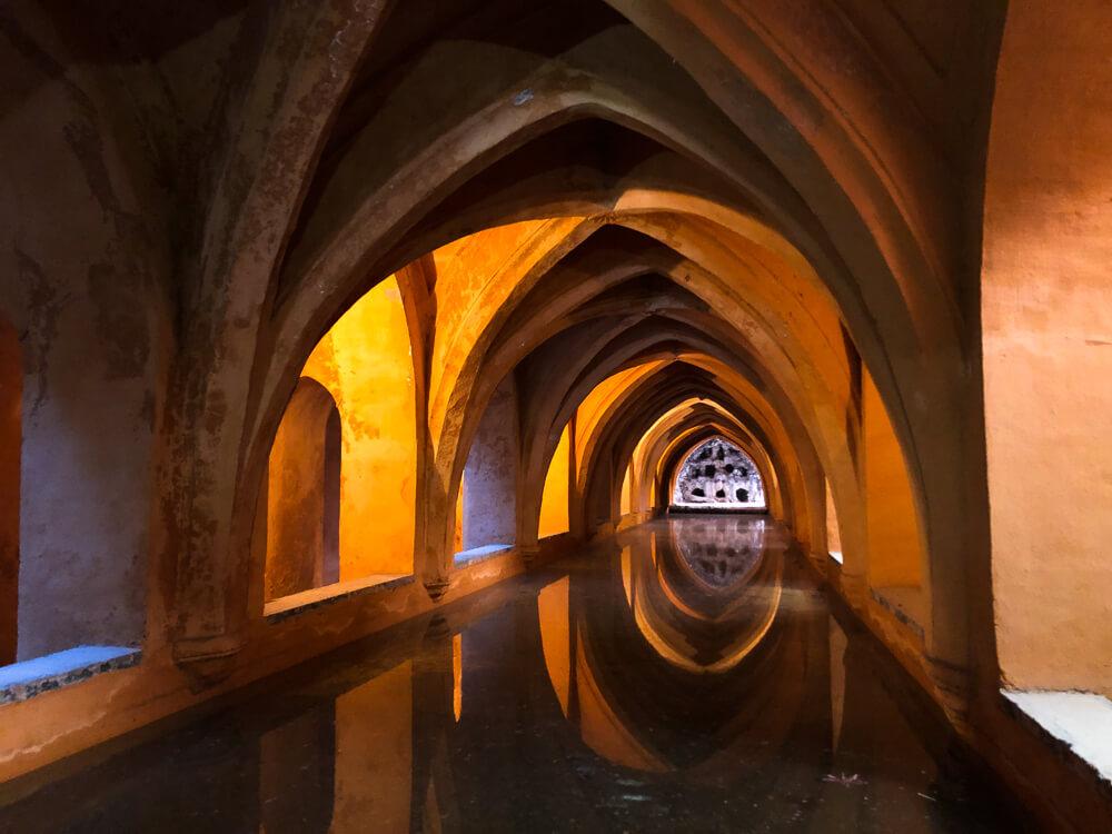 The baths of the Real Alcazar