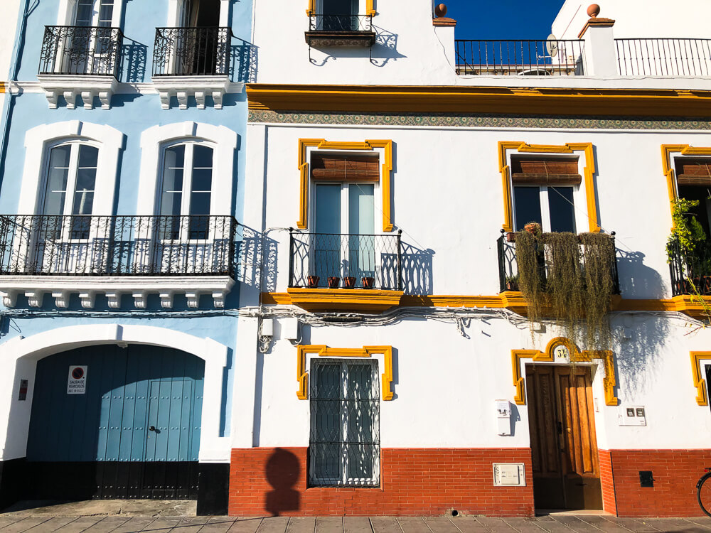 Houses in Seville Triana