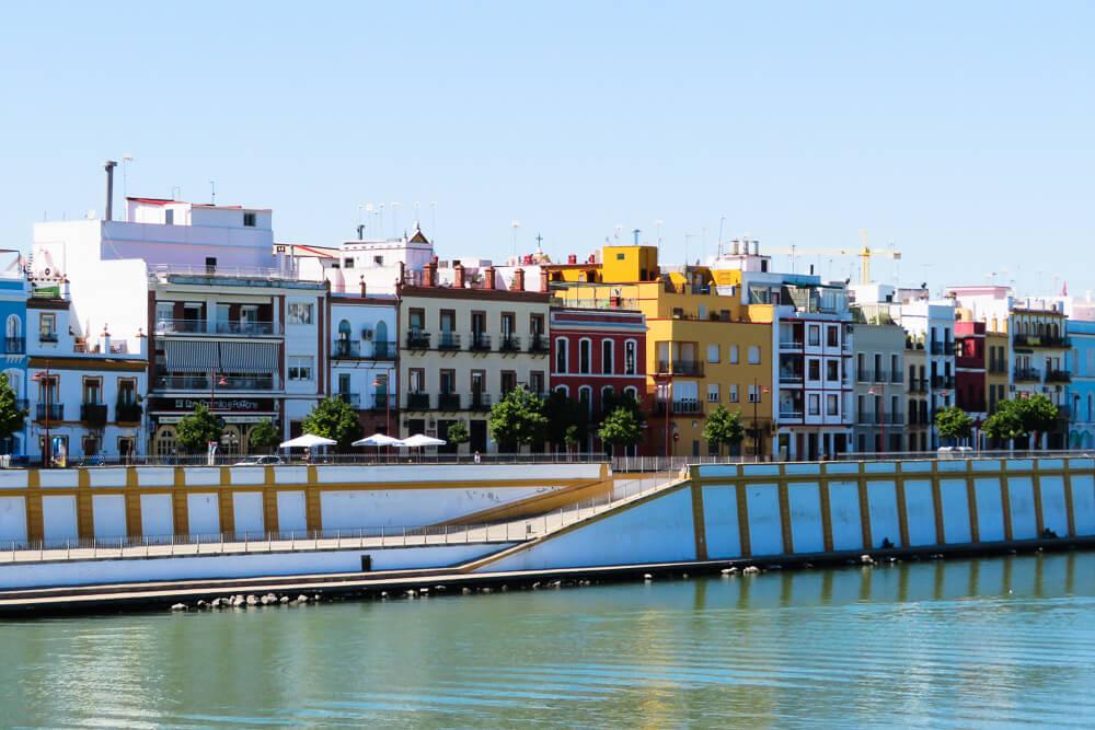 Things to do in Seville: walk the Guadalquivir promenade