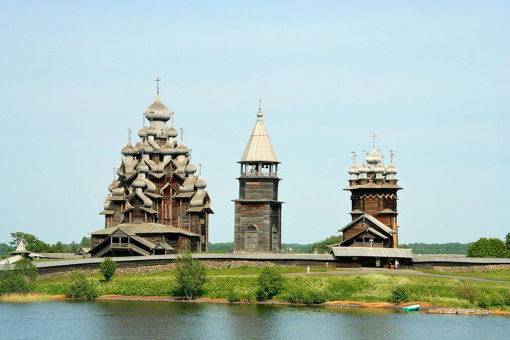 Kizhi pogost Russia