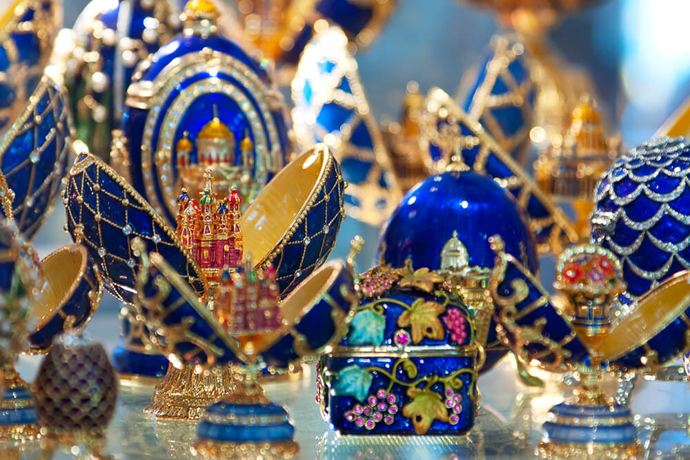 Faberge Easter eggs
