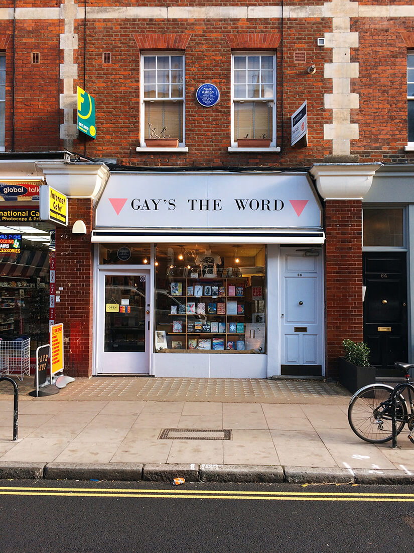 Gay's the Word bookshop in London